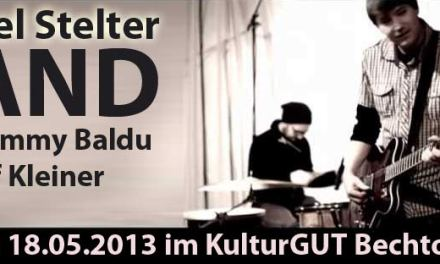 """Daniel Stelter und die """"Creme de lá Creme"""" der deutschen Musikszene am 18.05.2013 zu Gast im KulturGUT Bechtolsheim."""