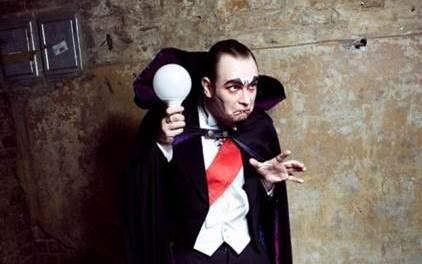 Comedian Martin Sierp im Museumskeller Guntersblum