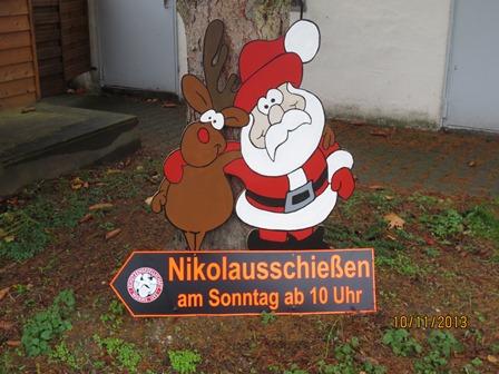 Nikolaus und Elch