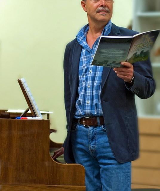 Heiner Hofmann seit 35 Jahren Chorleiter der Harmonie Oppenheim