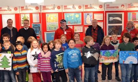 Kinder malen für Senioren