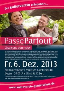 Duo PassePartout spielt in Guntersblum.