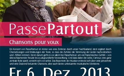 Duo PassePartout zu Gast – Französische Chansons im Kulturkeller Guntersblum