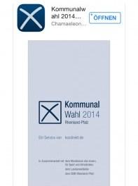 """Rheinland-Pfalz informiert mit App """"Wahl 2014 RLP"""" über Kommunalwahl im Land"""