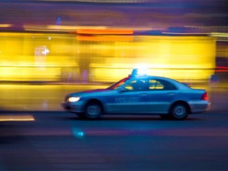 Polizei im Einsatz.