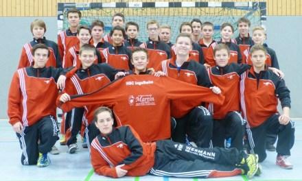 HSC-Jugend freut sich über neue Trainingsanzüge