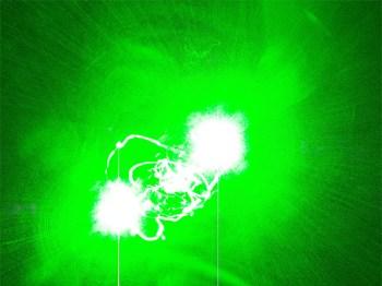 Piloten mit Laserpointer geblendet. (Symbolbild: stock:xchng)