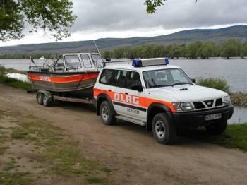 Einsatzfahrzeug der DLRG Ingelheim gestohlen.