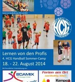 4. Handball Camp HC Gonsenheim 2014