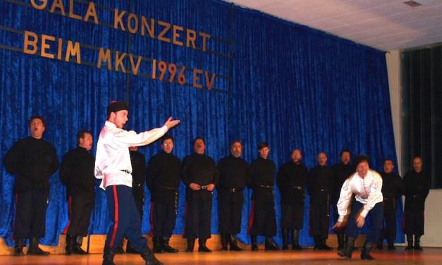 Don Kosaken Chor Serge Jaroff gastiert in Mommenheim