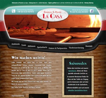 La Casa macht weiter - am 2. Januar wieder auf.