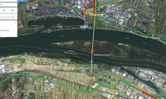 Ende der Brummi-Sperre: Schiersteiner Brücke ab Samstag wieder für Lkw frei