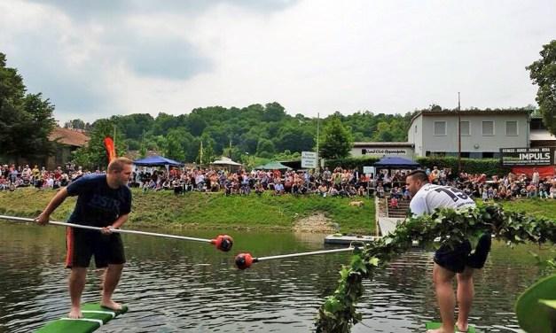 Schifferstechen an Pfingsten: Die Bretter die den Sieg bedeuten … oder ein Bad im kühlen Nass