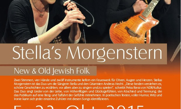 Stellas Morgenstern – New & Old Jewish Folk im Museum im Kellerweg