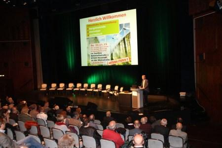a 8 Ex-BUND-Vorsitzender H. Neumann referierte authentisch und fachkompentent über die Praxis des Naturschutzes in RLP