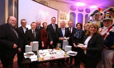 Garden, Geburtstagstorte und Gebabbel anno 1816 – Region Rheinhessen startet ins Jubiläumsjahr 2016