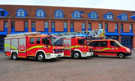 Geschicklichkeitsfahren für Feuerwehreinsatzfahrer