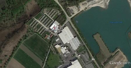 Metro schließt Lager im Gimbsheim und Bingen. (Bild: Google Earth)
