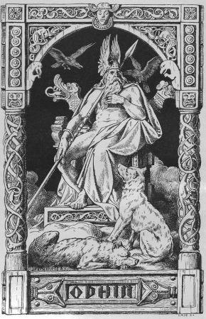 Wotan, auch als Odin bekannt, ist der Hauptgott der nordischen Mathologie. (Bild: wikipedia)