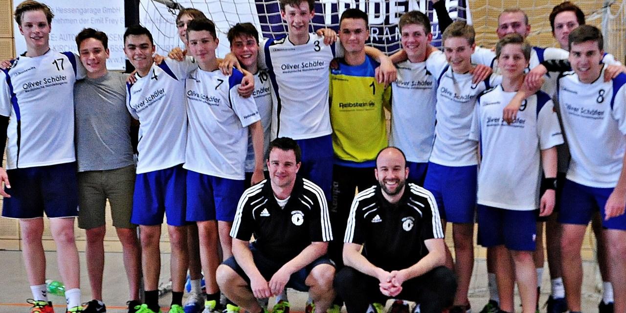 HC Gonsenheim ´s  männliche B-Jugend ist Meister der Kreisklasse 2015-16