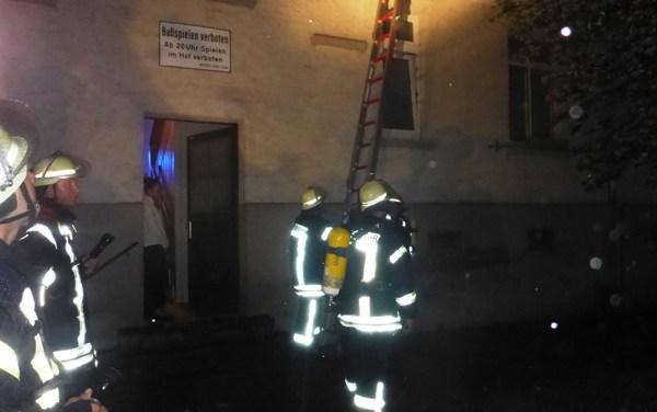 Unwetter beschert der Feuerwehr zahlreiche Alarme