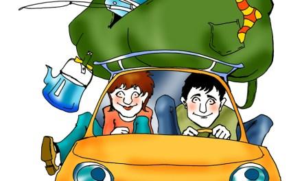Richtiges Fahrverhalten auf der Fahrt in den Urlaub