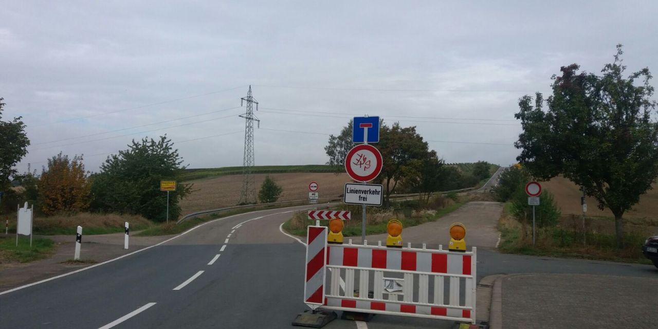 Überraschungsbaustelle in Friesenheim – die Aufklärung