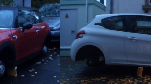 Felgen von zwei PKW in Monsheim gestohlen