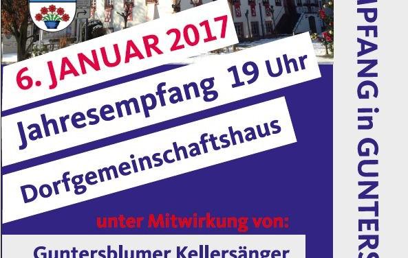 Jahresempfang der Gemeinde Guntersblum
