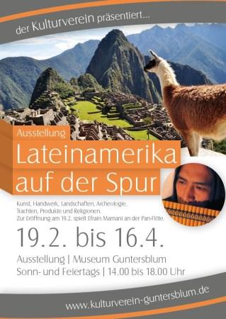 Plakat Ausstellung Lateinamerika