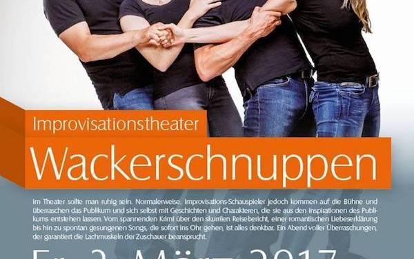 Improvisationstheater Wackerschnuppen im Museum Guntersblum