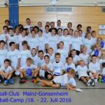 Handball-Camp des Handball-Club Mainz-Gonsenheim vom 03. bis 07. 07. 2017