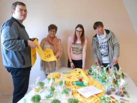 FAW öffnete ihre Türen für Osterbasar