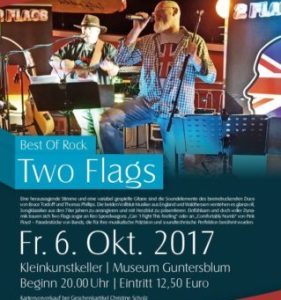 Stairway to California – Best Of Rock mit dem Duo Two Flags