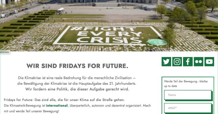 Fridays For Future Mainz zum Deutschen Earth-Overshoot-Day am 03.05.