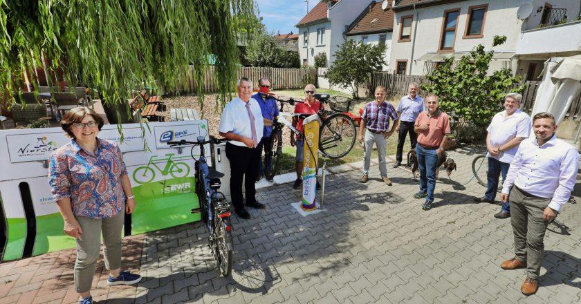 Radservice-Station in Nierstein eingeweiht