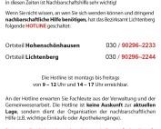 WiR – Wohnen in der Rummelsburger Bucht Nachbarschaftsverein – Lichtenberger Corona-Nachbarschaftshilfe