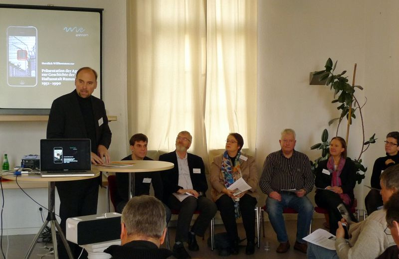 WiR – Wohnen in der Rummelsburger Bucht Nachbarschaftsverein – WiR erinnern - Vorstellung Rummelsburg-App