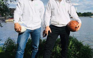WiR – Wohnen in der Rummelsburger Bucht Nachbarschaftsverein – Mobile Jugendhelfer David und Güney veranstalten den Jugendclub im Alten Lazarett in Rummelsburg