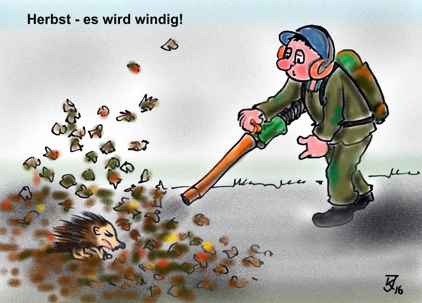 Unsere Müritz Karikatur Wir Sind Müritzer