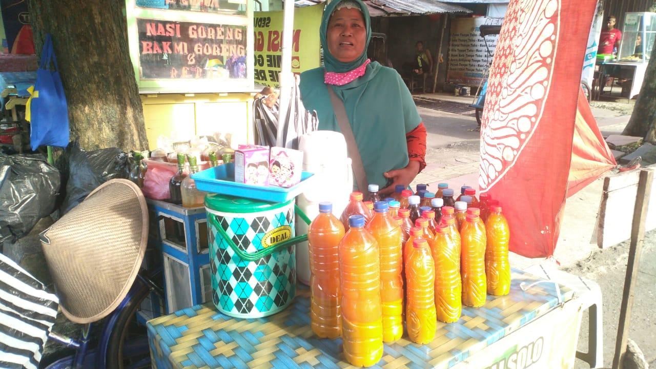 Diracik dengan Gula Aren, Jamu Parti Digemari Pelanggan
