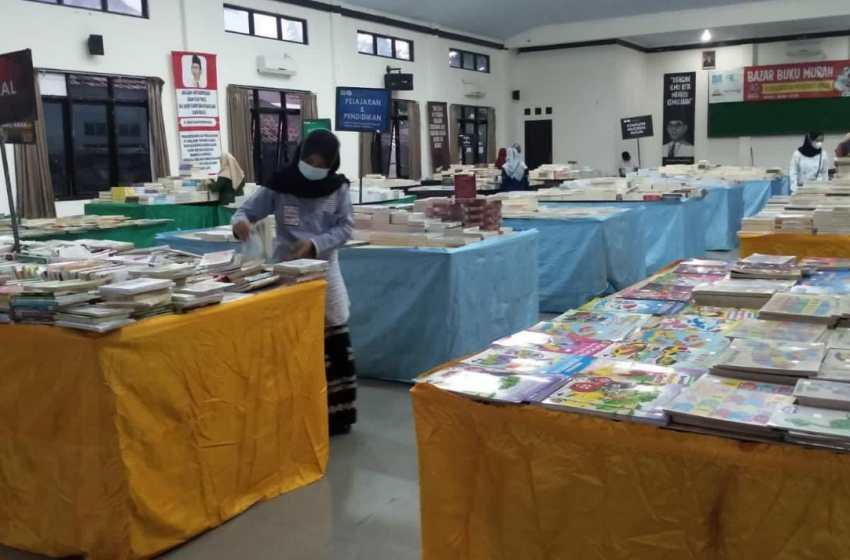 Bazar Buku Murah, Harga Dibanderol Mulai Rp 10 Ribu