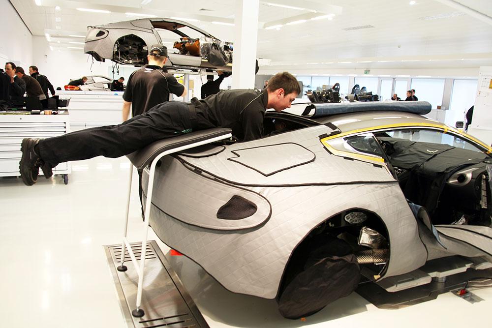 Aston-Martin-One-77-planking-BW