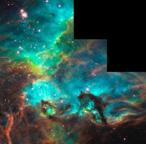 Star Cluster NGC 2074 in the Large Magellanic Cloud