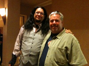 GeekDad Ken and Penn Jillette
