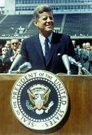 JFK points us to the moon