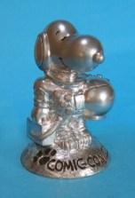 Silver Astronaut Snoopy Figurine (Peanuts)