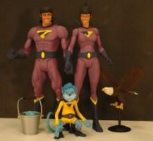 Wonder Twins with Gleek (Mattel)