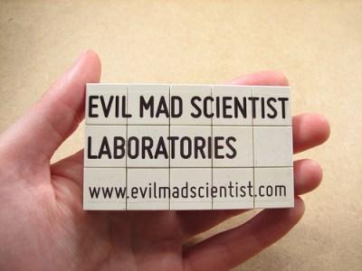 Lenore M. Edman, www.evilmadscientist.com