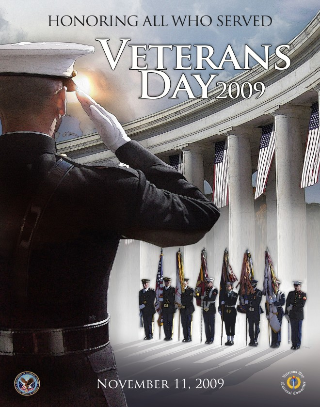 Poster from U.S. Dept. of Veterans Affairs